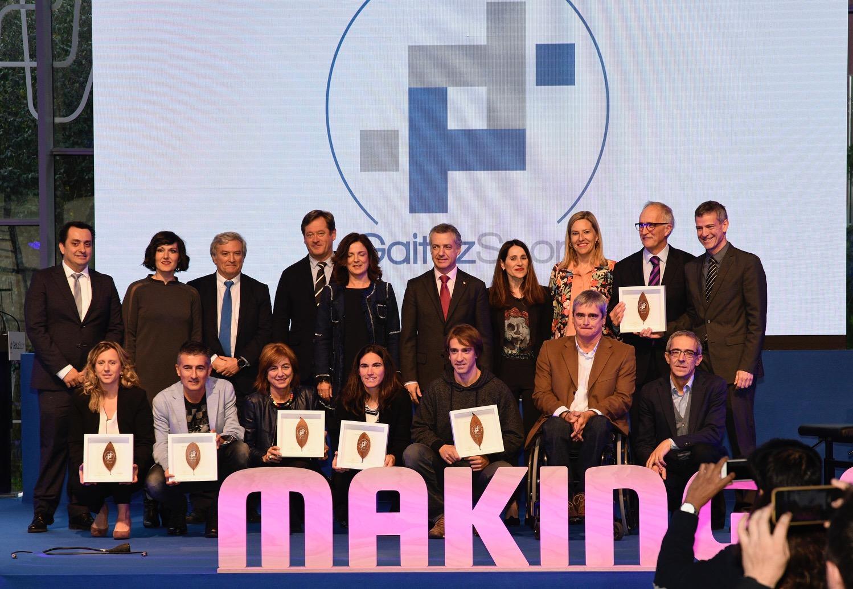 Foto familia Premios GaituzSport Bilbao