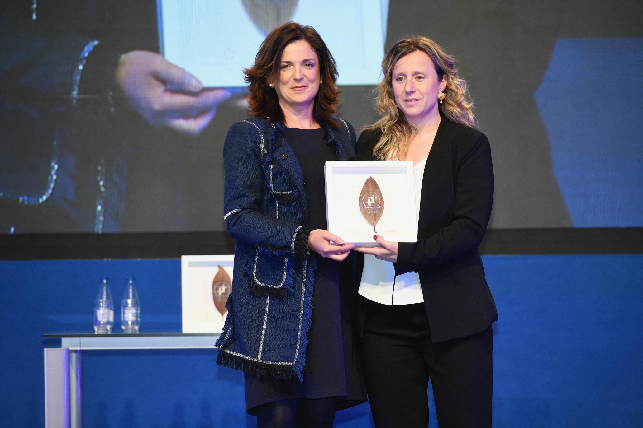 Entrega del Premio GaituzSport al Centro Hegalak