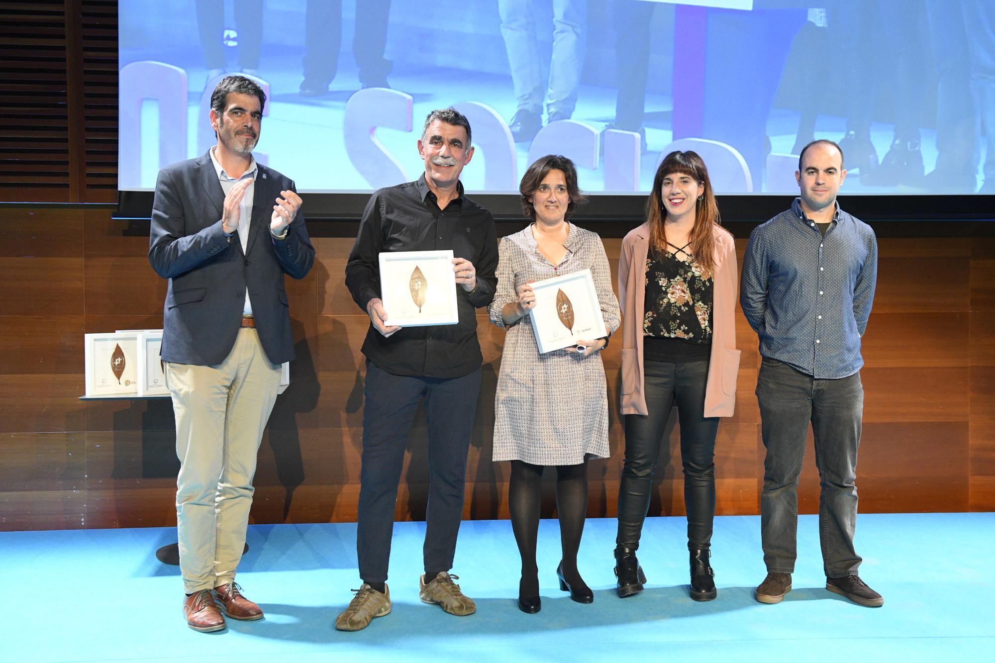 Premio GaituzSport Joxe Mari Agirretxe y Bizipoza
