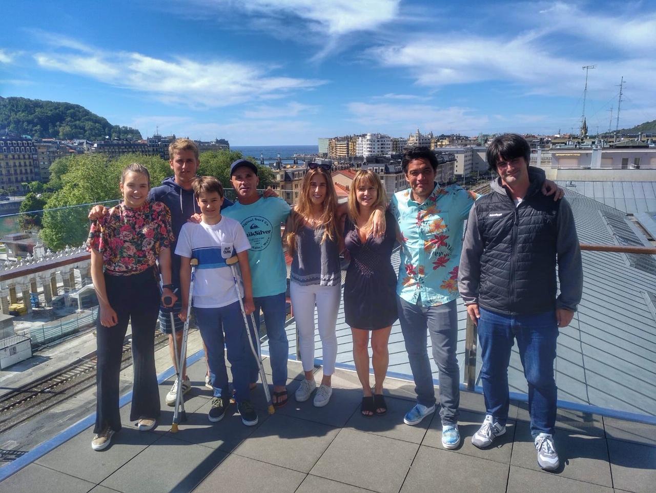 Presentación FederArte y surf inclusivo en Donostia